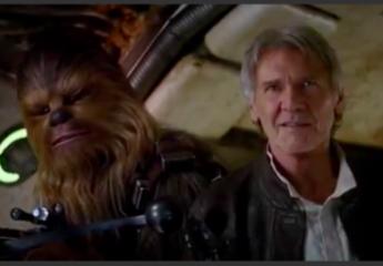"""""""Chewie, we're home"""" spune Han Solo în cel mai nou trailer Star Wars"""