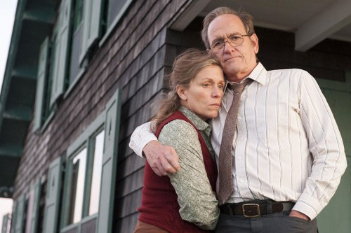 Frances McDormand și Richard Jenkins, Olive și Henry Kitteridge în 'Olive Kitteridge' (HBO)