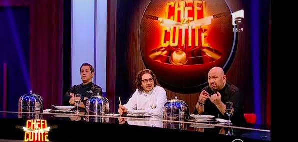 'Chefi la Cuțite', un cîștig pentru Antena 1